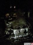 Ночью с 5 на 6 сентября в Кременчуге неизвестный снова поджег автомобиль (ФОТО)