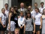Світловодські школярі під куполом Верховної Ради