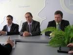 Зліва направо: Олександр Сич, Роман Петров, Володимир Михайлик