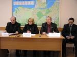 Зліва направо: М. Бур'янський, Л. Чекаленко, І. Маліновський, С. Марищенко