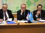 Президія заходу: Юрій Котенко, Іван Марон, Станіслав Марищенко (зліва направо)