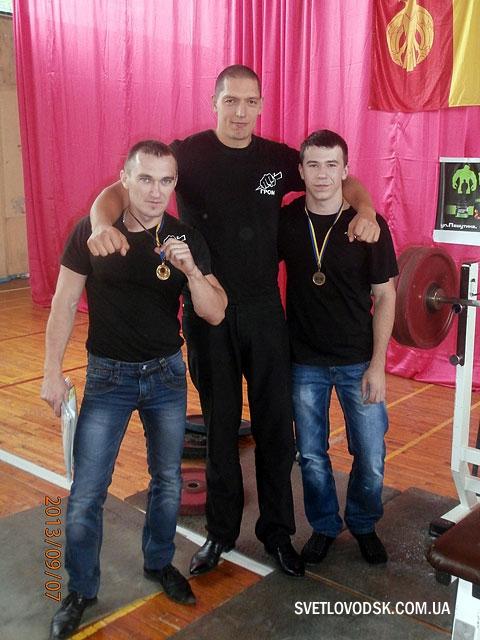 Віталій Цвень здобув золото у відкритому чемпіонаті Кіровограду з жиму лежачі