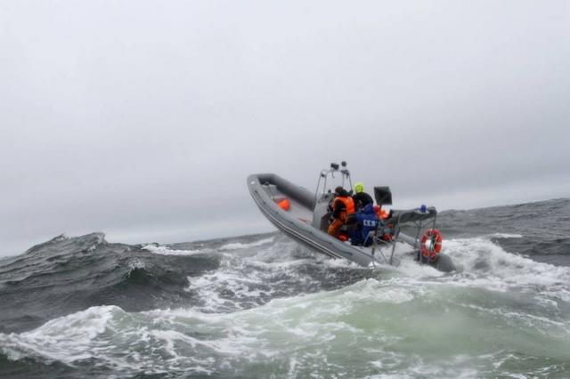 берингов пролив на лодке