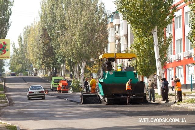 Капитальный ремонт улицы Ленина продолжается