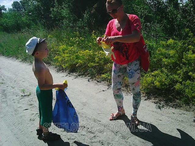 Как мы отметили День молодёжи? Активным трудом на пляже!
