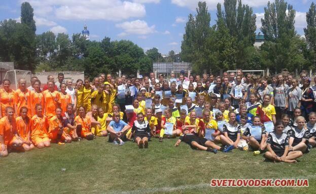 Збірна Кіровоградської області з жіночого футболу – друга в Україні