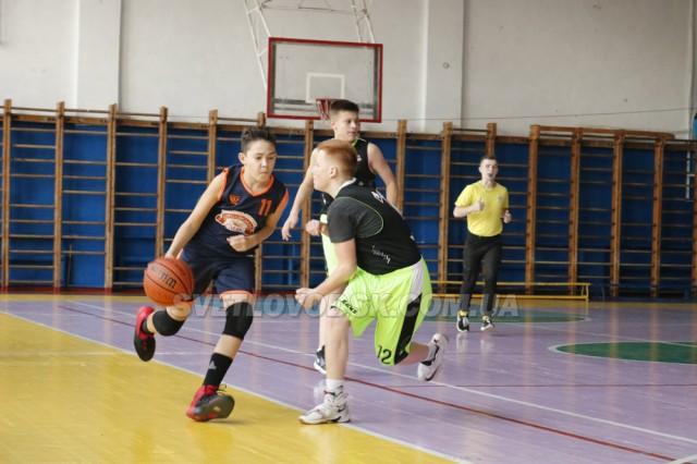 Матчева зустріч баскетболістів