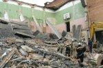На Кіровоградщині сталося руйнування спортзалу