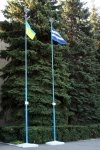 Як Державний Прапор України з'явився у Світловодську