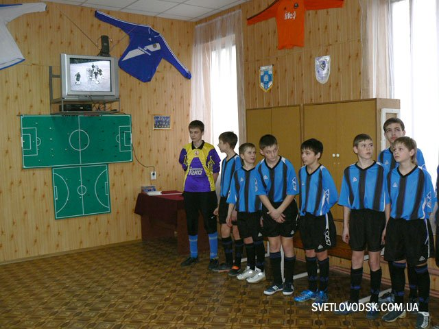 Відкриття методичного класу з футболу