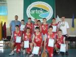 Світловодські баскетболісти – срібні призери Всеукраїнської олімпіади з баскетболу