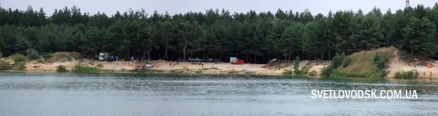 """Спроба №2 — """"Голубе озеро"""": ситуація з місцями для відпочинку та купання поліпшується"""