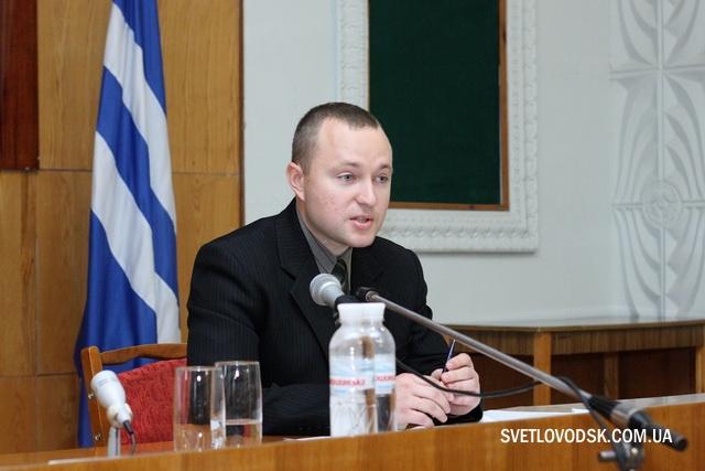 Голова Світловодської міської територіальної виборчої комісії Віктор Левченко