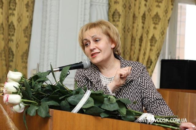 Людмила Давиденко — заступник голови Кіровоградської обласної державної адміністрації