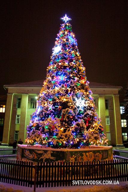 Новорічна ніч у нашому місті обіцяє стати незабутньою!