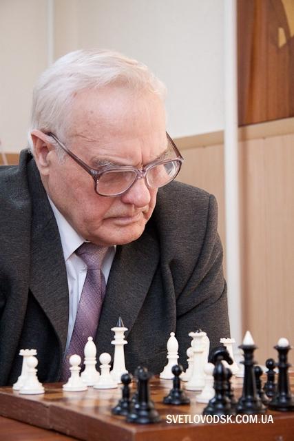 Микола Мартиненко — «Чемпіон міста-2015» з шахів