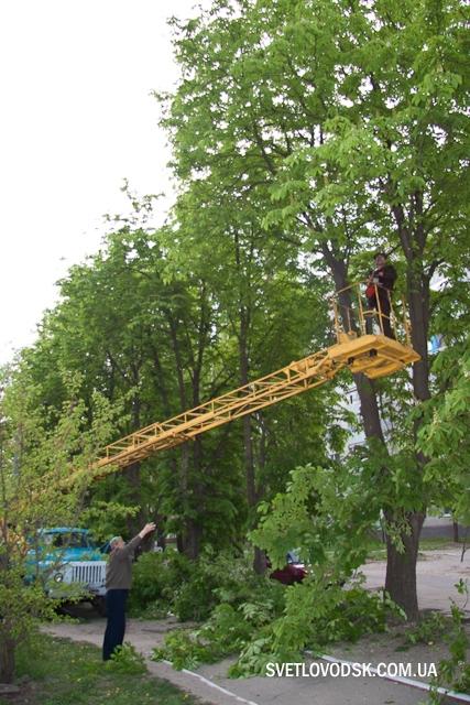 Про відновлення вуличного освітлення у Світловодську