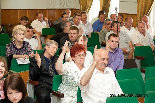 На сесії міської ради