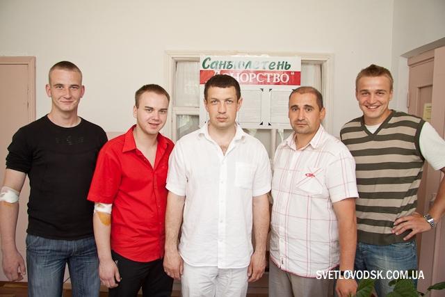 """Всеукраїнська акція """"Здай кров — врятуй життя дитині"""""""