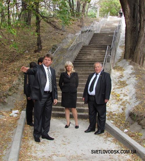 Сходи відремонтовано — обіцянки виконано