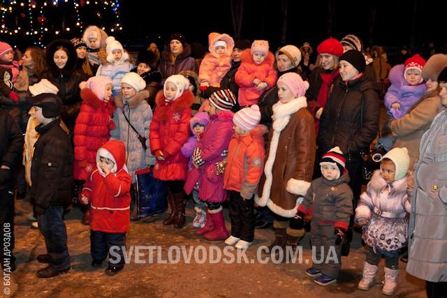 Відкриття Новорічної ялинки - 2012!
