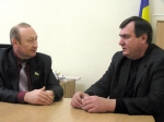Іван Маліновський (ліворуч) і Микола Вєщєв