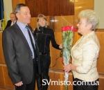 Зінаїда Климчук привітала з днем народження депутата від фракції Партії регіонів Федора Ломоноса