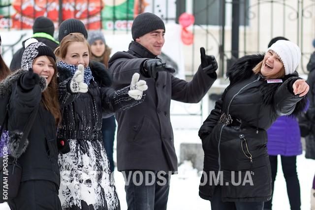 Перший флешмоб у Світловодську!