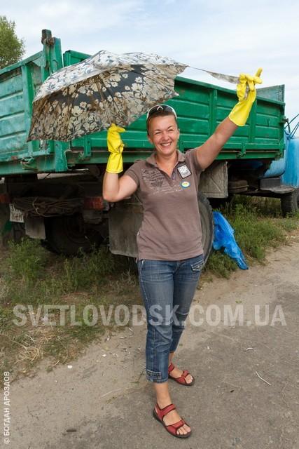 """""""Патріоти Світловодська"""" навели порядок у Андрюшкіному Яру (ФОТО, ВІДЕО)"""