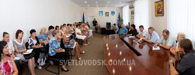 Світловодський рейд заступника головного освітянина всієї України (ФОТО)