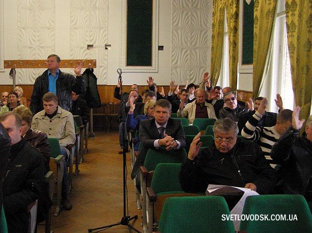 І знов найцікавішим на сесії були запити (ФОТО)