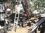 Рятувальники спиляли аварійні дерева