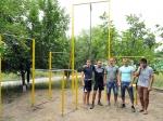 Молодь та депутат міської ради Юрій Стогній за спорт та за здоровий спосіб життя