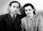 1954 рік. Молоде подружжя Попових