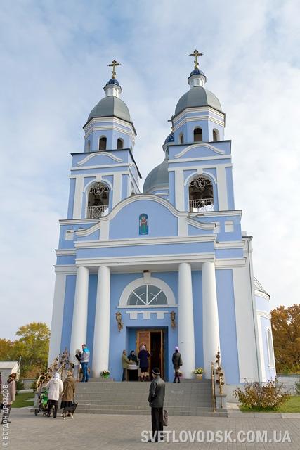 13 священников во главе с протоиереем Александром Коваленко совершили праздничную литургию