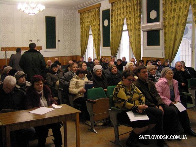 На засіданні Громадської ради у Світловодську — найболючіші питання городян