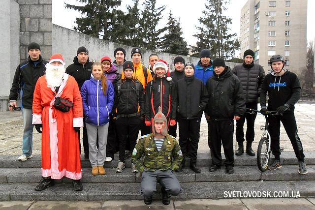 Пробежка после застолья показала: Новый год можно встречать трезвыми!