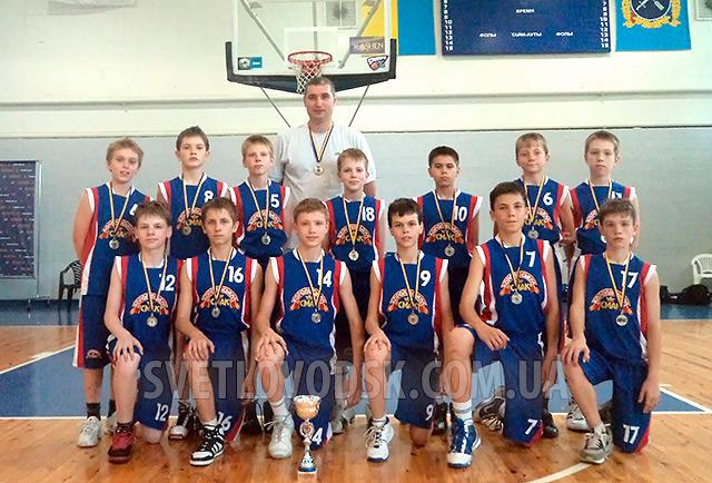 Вболіваємо за світловодських баскетболістів!