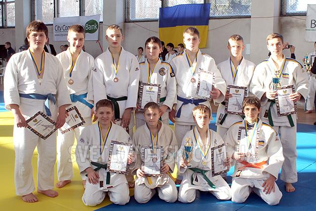 Спортсмены Рудольфа Матвеева — в числе победителей Всеукраинского турнира