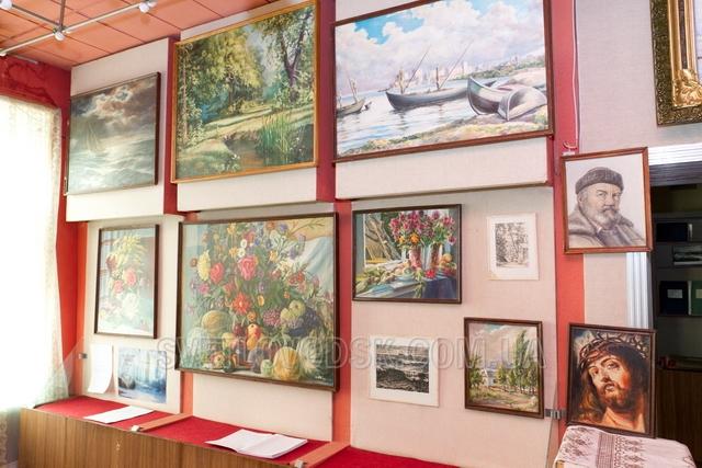 Виставка художника Володимира Середенка відкрита до 16 лютого
