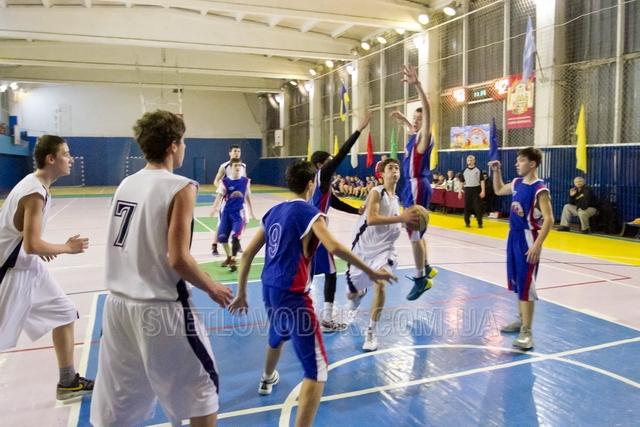 У Світловодську пройшов третій тур Чемпіонату України з баскетболу
