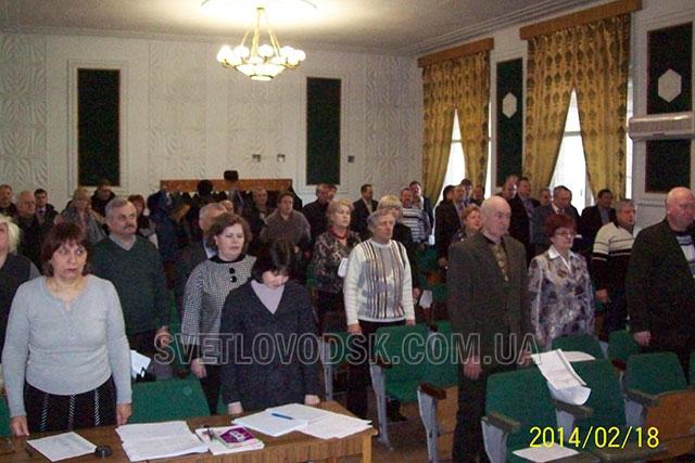 Півтори години розглядали народні обранці свої запити на сесії Світловодської міської ради