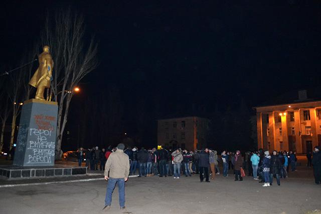 Вчера ночью в Светловодске пытались разрушить памятник Ленину, сегодня его судьбу решит сессия горсовета