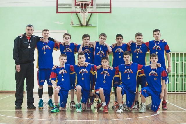 Світловодські баскетболісти — бронзові медалісти Чемпіонату України