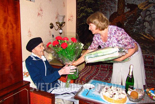 Автору гімну Світловодська Миколі Донцю виповнилося 90 років