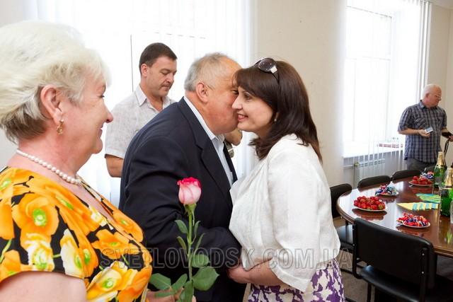 Міський голова та секретар ради привітали журналістів