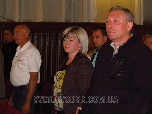 Позачергова сесія Світловодської міської ради розглянула подання прокурора