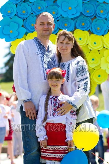 Парад вишиванок в День Конституції відбувся у Світловодську