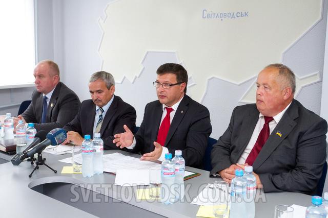 Засідання Асоціації міст України відбулося у Світловодську