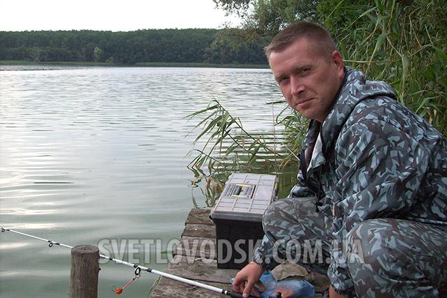 Чемпіоном Світловодська з риболовного спорту став Олександр Швець
